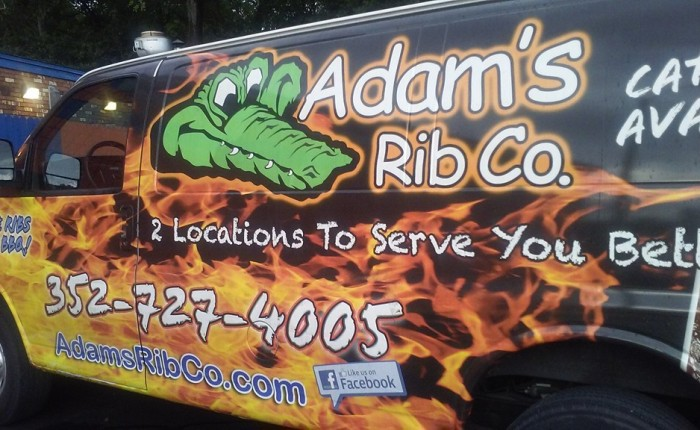 No gator tail but great 'cue at Adam's Rib
