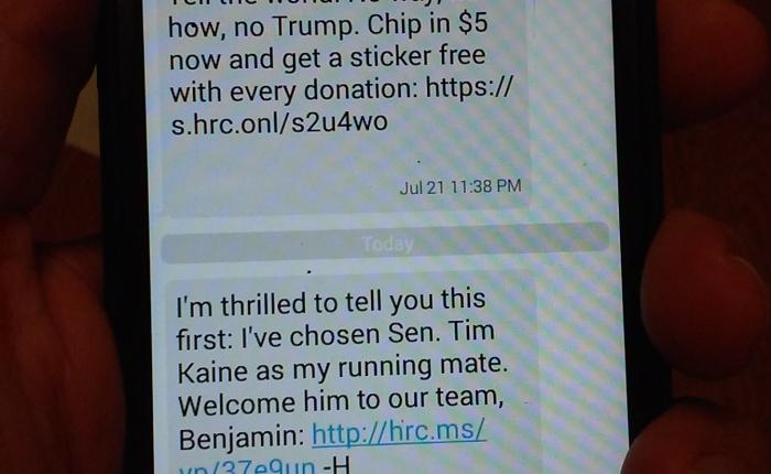 Hillary Taps Virginia Senator TimKaine!