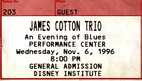 Harp god James Cotton turns 81 today!