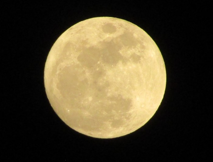 This Amazing View of Tonight's Full Moon Is Brought to You By…
