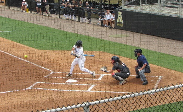 UCF Softballers Bash UConn in Home Finale