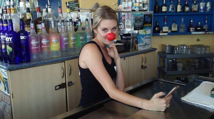 Slow-n-Low-Ali-w-red-nose-how-do-i-look-1