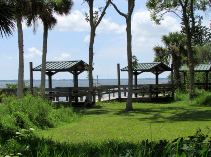 Spent a Few Moments at Tom Statham Park in Titusville ThisMorning