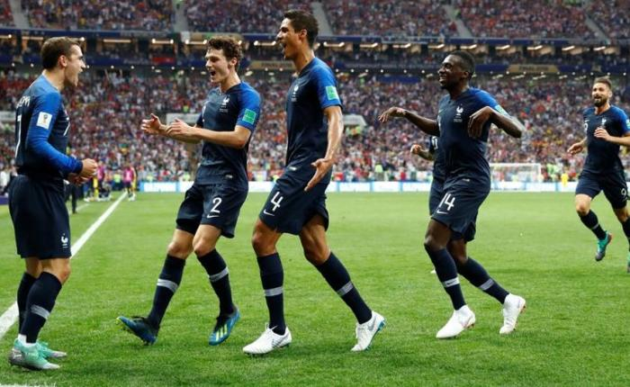 France defeats Croatia 4-2 in World Cup Final